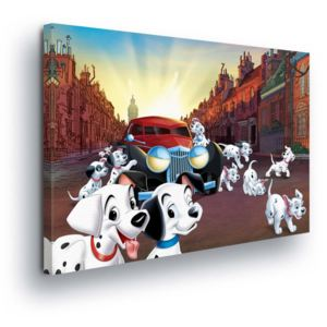 GLIX Tablou - Disney Playing Dalmations III 100x75 cm