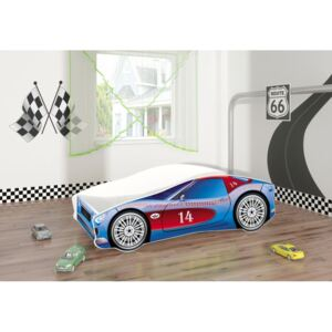 Pat Tineret MyKids Race Car 02 Blue-160x80