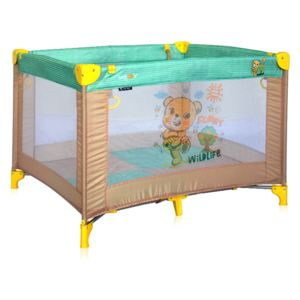 Tarc de joaca Play Beige & Green Honey Bear