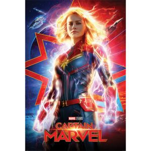 Captain Marvel - Higher, Further, Faster Poster, (61 x 91,5 cm)