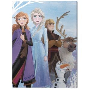 Tablou Canvas Frozen 2 - Stronger Together, (60 x 80 cm)