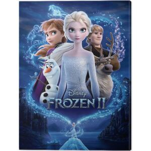 Tablou Canvas Frozen 2 - Magic, (40 x 50 cm)