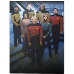 Tablou Canvas Star Trek: The Next Generation - Enterprise Officers, (60 x 80 cm)