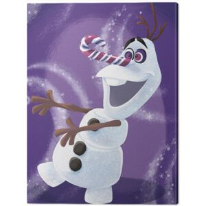 Tablou Canvas Frozen - Olaf Dizzy, (60 x 80 cm)