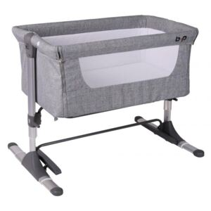 Patut Co sleeper Bebe Royal cu leganare gri