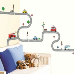Autocolant pentru perete Ambiance Car For Children