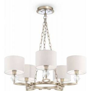 Lustra alba aurie antic Luxe Maytoni 5xE14