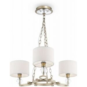 Lustra alba aurie antic Luxe Maytoni 3xE14