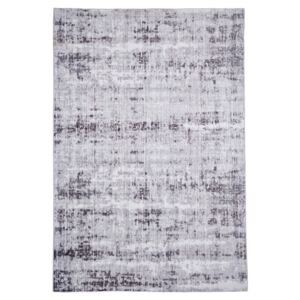 Covor Floorita Abstract Grey, 80 x 150 cm