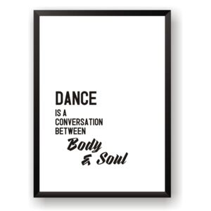 Poster Nord & Co Dance, 40 x 50 cm