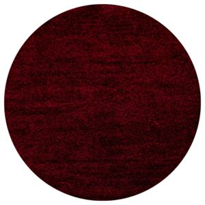 Covor Polipropilena Fir Lung 120x120 cm burgundy