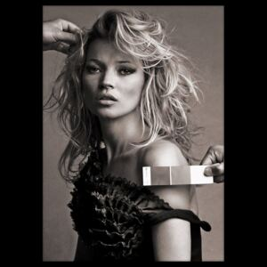 Tablou Poster Iconic Collection Kate Moss 2, 50 x 70 cm
