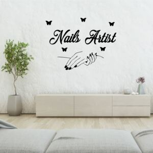 Sticker perete Nail Salon 2