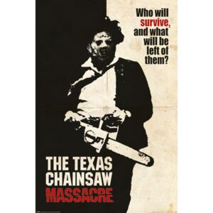Texas Chainsaw Massacre - Who Will Survive? - Who Will Survive? Poster, (61 x 91,5 cm)