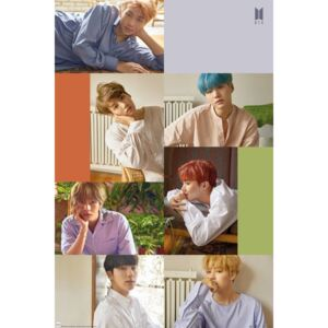 BTS - Group Collage Poster, (61 x 91,5 cm)