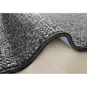 Covor negru 200x300 cm Wolly BT Carpets
