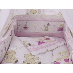Lenjerie Teddy Play Pink M2 5 piese 140x70 cm