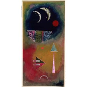 From Light into Dark, 1930 Reproducere, Wassily Kandinsky