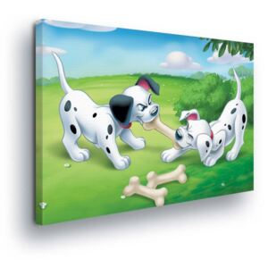 GLIX Tablou - Disney Playing Dalmations 60x40 cm