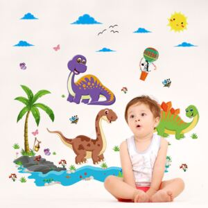 Sticker perete Dino Land