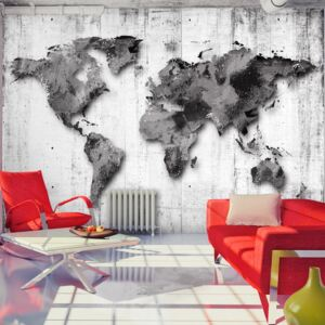 Fototapet Bimago - World in Shades of Gray + Adeziv gratuit 200x140 cm