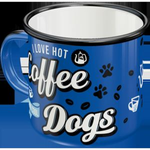 Nostalgic Art Cană metalică - Coffee Dogs