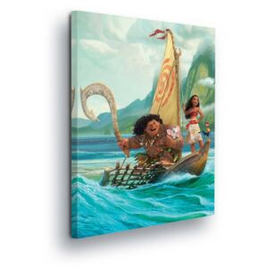 GLIX Tablou - Disney Moana on boat 60x40 cm