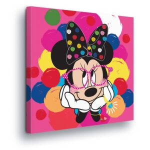 GLIX Tablou - Spotted Disney Minnie Mouse 40x40 cm