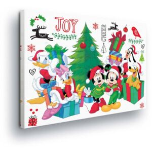 GLIX Tablou - Christmas Disney Disney Mickey Mouse 25x35 cm