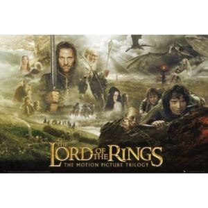 LORD OF THE RINGS - trilogy Poster, (91,5 x 61 cm)