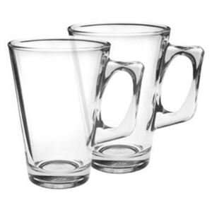 Set căni din sticlă VELA 240 ml, 2 buc