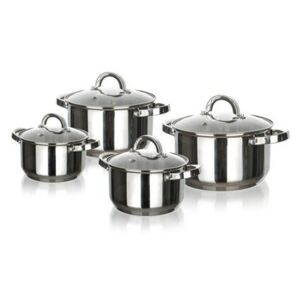 Set 8 oale inox Swing