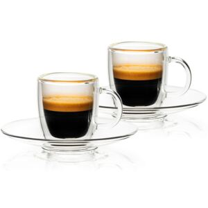 Pahare termo Ristretto 4home HotCool, 50 ml, 2 bu c