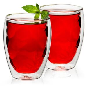 Pahare termo 4home Raspberry HotCool, 250 ml, 2 buc