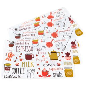 Suport farfurie Relax Time, 30 x 45 cm, set 4 buc