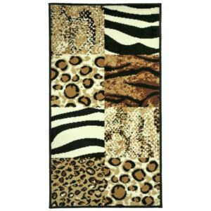 Covor Animal Print Sceptrum, Multicolor, 80x150