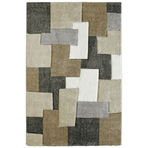 Covor Patchwork Xantos, Taupe, 60x110