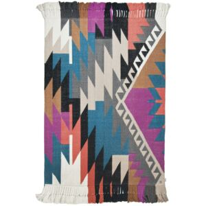 Covor Modern & Geometric Vintage, Bumbac, Multicolor, 160x230