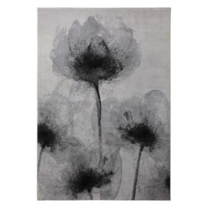 Covor Floral Night Shade, Gri, 160x230