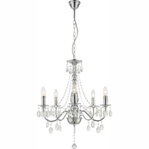 Candelabru William, 5 x E14 40W