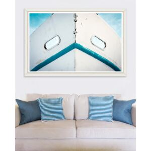 Tablou Framed Art Dirty White Boat