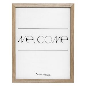 Tablou Welcome Nature, l35xH45 cm