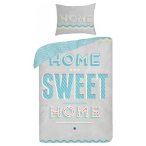 Lenjerie de pat copii Cotton Sweet Home SCI290