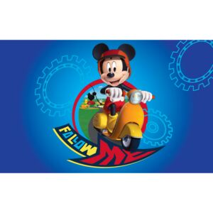 Covor Kids Mickey Mouse Motoret 15, Imprimat Digital
