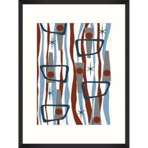 Tablou Framed Art Retro Perspective I
