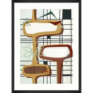 Tablou Framed Art Retro Atomic I