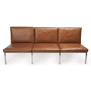 Canapea fixa NORR11 Man Three Seater Vintage Leather