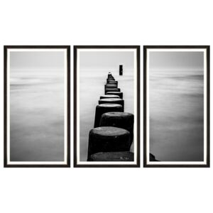 Tablou 3 piese Framed Art Endless Path