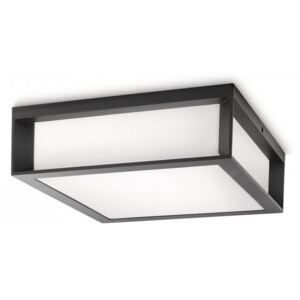 Philips SKIES 17184/93/16 Plafoniere de exterior antracit 2xE27 max 14W 227x93x278 mm