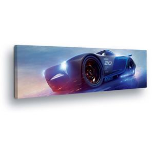 GLIX Tablou - Disney Car Jackson Storm 45x145 cm